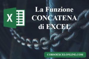 Concatena Excel [Esercizi da scaricare]